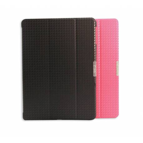 OBIEN APIP-31 Etui/Support iPad Air en similicuir Noir
