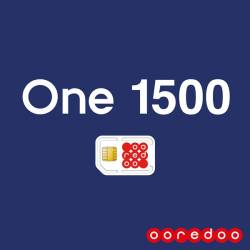 Ooredoo  One 1500 Offre Postpaid