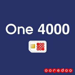 Ooredoo One 4000 Offre Postpaid