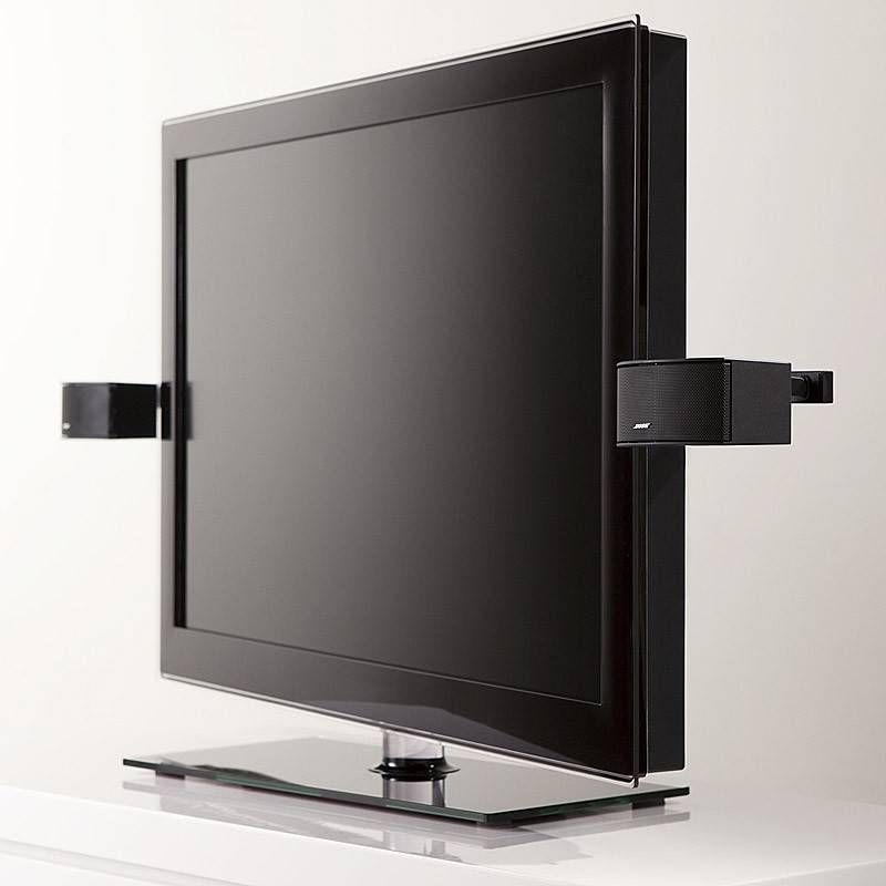 support d 39 enceintes pour tv ecran plat bose ubtv 20. Black Bedroom Furniture Sets. Home Design Ideas