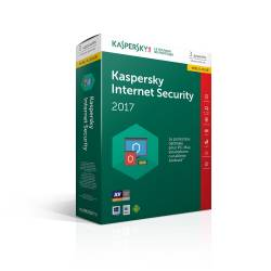 Kaspersky Internet Security 2017 Antivirus 3 Postes