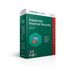 Kaspersky Internet Security 2017 Antivirus 5 Postes