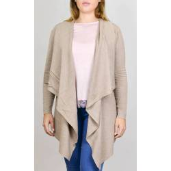 Style By Eshop Gilet Mi-Long Fluide