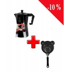 Pack Ibili Cafetière Expresso + Ibili Poêle Ours