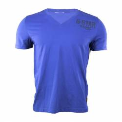 G-Star T-shirt Homme Col V Demi-manches