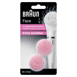 Braun SE80-S Recharges Brosse Extra Sensitive