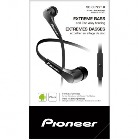 Pioneer SE-CL722T Ecouteurs Intra-Auriculaires