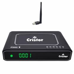 Cristor IP3000S Démo Satellite